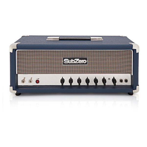 SubZero Valve 50W Guitar Amp Head with Reverb