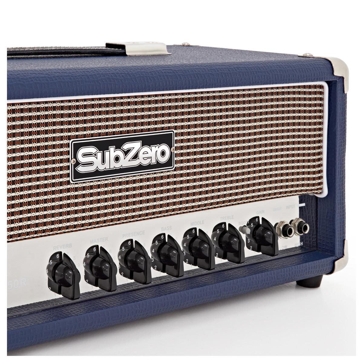 subzero valve 50 guitar amp head at gear4music. Black Bedroom Furniture Sets. Home Design Ideas