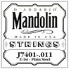 D'Addario J7401 .011 Plain Steel Single First String for Mandolin