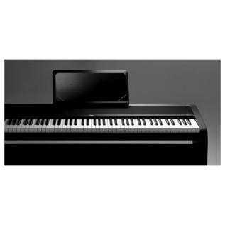 korg b1 digital piano with stand black at. Black Bedroom Furniture Sets. Home Design Ideas