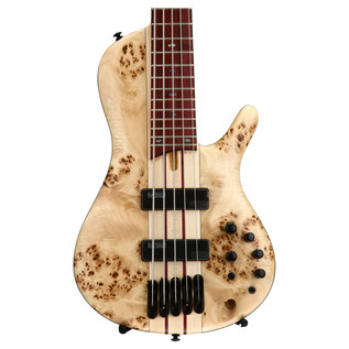 Ibanez SRSC805-NTF Singlecut Bass Guitar, Natural Flat