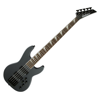 Jackson CBXNT V Bass Guitar, Dark Metallic Grey