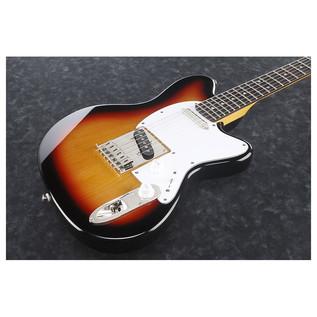Ibanez 2016 TM302-TFB Electric Guitar, Tri Fade Burst