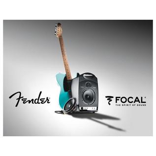 Fender Passport Studio Portable Studio Monitor, Black