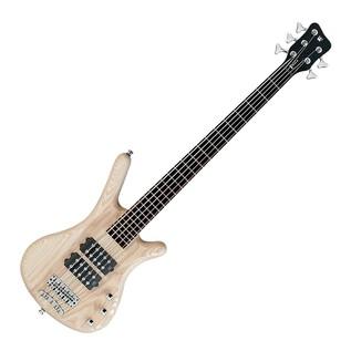 Warwick Rockbass Corvette $$ 5-String Bass Guitar, Natural Satin