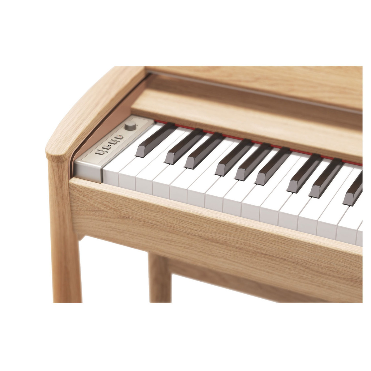 roland kiyola kf 10 digital piano with stool pure oak at. Black Bedroom Furniture Sets. Home Design Ideas