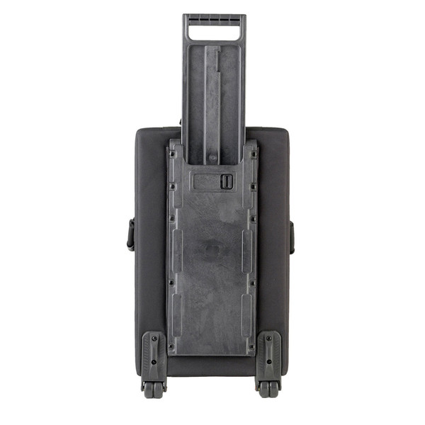 SKB Large Rolling Powered Speaker/Mixer Soft Case - Rear Handle Extended