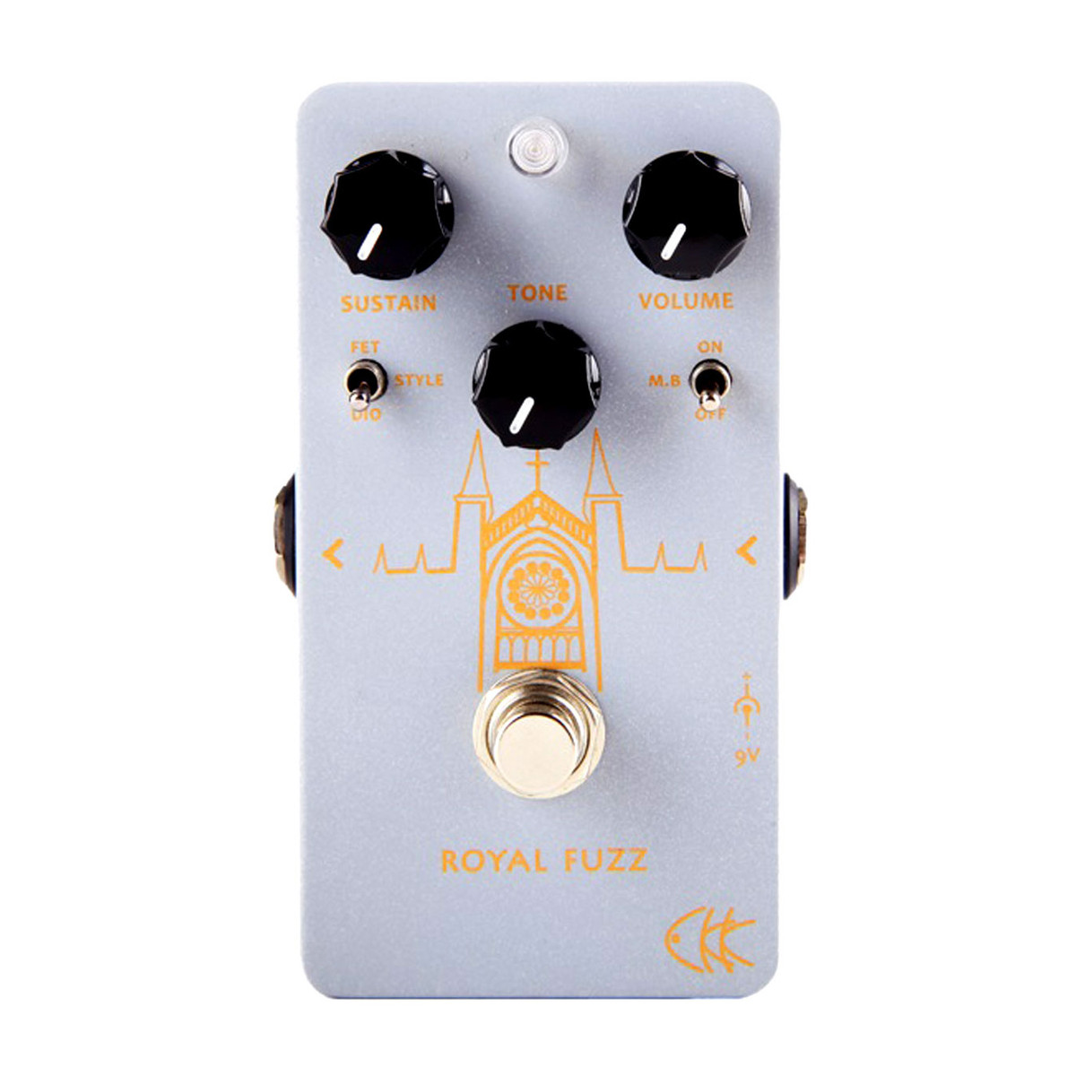 Ckk Electronic Royal Fuzz Guitar Pedal At Gear4music Box By All Fet Loading Zoom