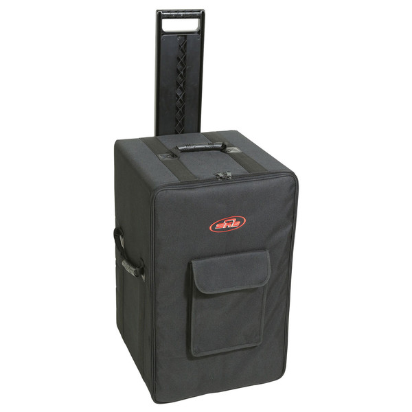 SKB Speaker Soft Case w/Wheels and Pull Handle - Angled