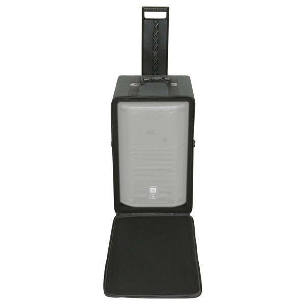 SKB Speaker Soft Case w/Wheels and Pull Handle - Front Open (Speaker Not Included)