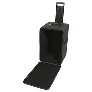 SKB Speaker Soft Case w/Wheels and Pull Handle - Angled Empty