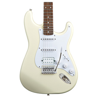 Squier by Fender Bullet Stratocaster with HSS, Arctic White