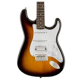 Squier by Fender Bullet Stratocaster with HSS, Brown Sunburst