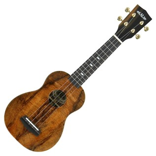 Kala Elite KOA 3 Soprano Ukulele, UV Gloss Natural