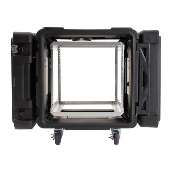 SKB 24'' Deep 10U Roto Shockmount Rack Case - Front Open