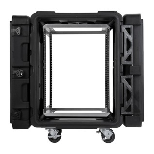 SKB 24'' Deep 14U Roto Shockmount Rack Case - Front Open
