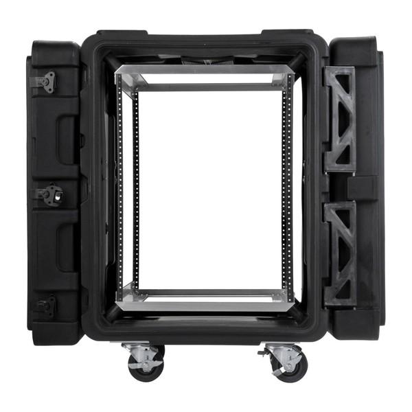 SKB 24'' Deep 14U Roto Shockmount Rack Case - Front Open