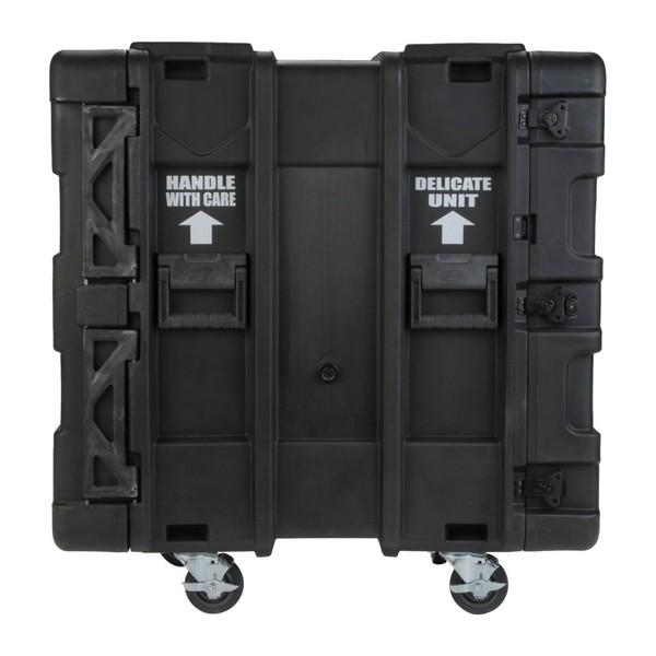 SKB 24'' Deep 14U Roto Shockmount Rack Case - Side