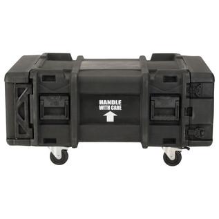 SKB 28'' Deep 4U Roto Moulded Shock Rack Case - Side