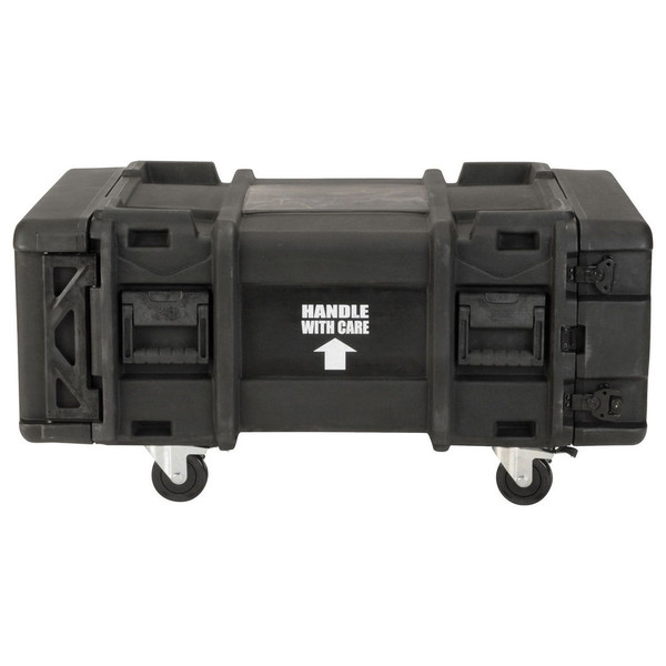 SKB 28'' Deep 4U Roto Moulded Shock Rack Case - Side