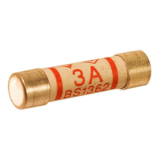 Mercury 3 Amp Fuse, Pack of 5