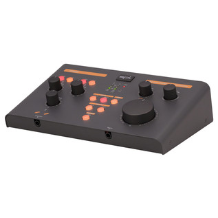 SPL Creon USB Audio-Interface & Monitor Controller, Black - Angled