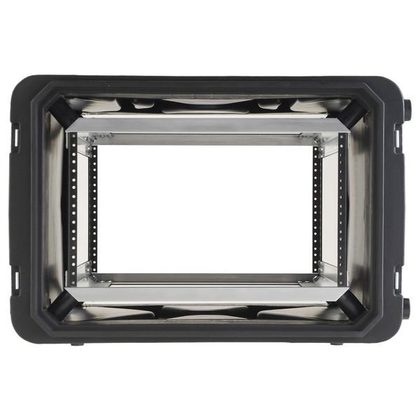 SKB 20'' Deep 6U Roto Shockmount Rack Case - Front Open