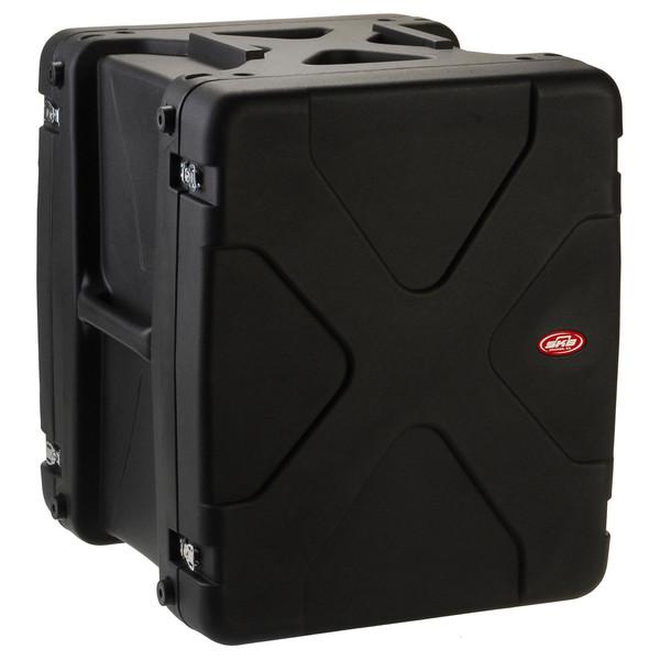 SKB 20'' Deep 14U Roto Shockmount Rack Case - Angled 2