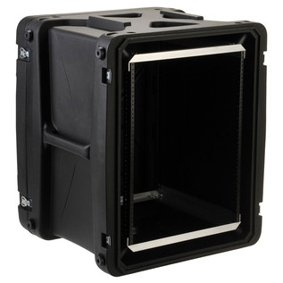 SKB 20'' Deep 14U Roto Shockmount Rack Case - Angled Open 2
