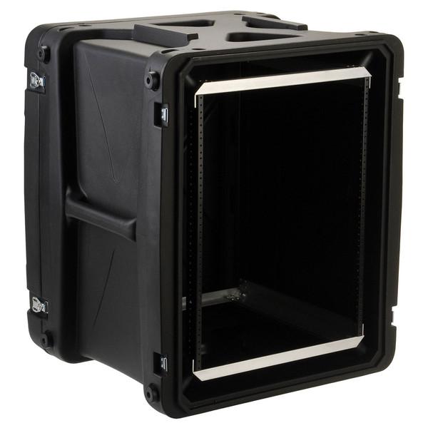 SKB 20'' Deep 14U Roto Shockmount Rack Case - Angled Open 2