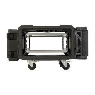 SKB 30'' Deep 4U Roto Shockmount Rack Case - Front Open
