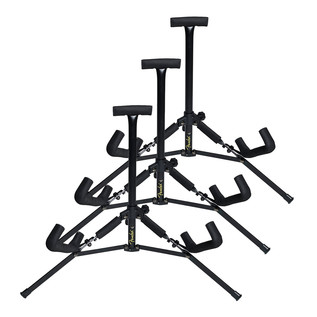 Fender Mini Acoustic Guitar Stand, 3 Pack