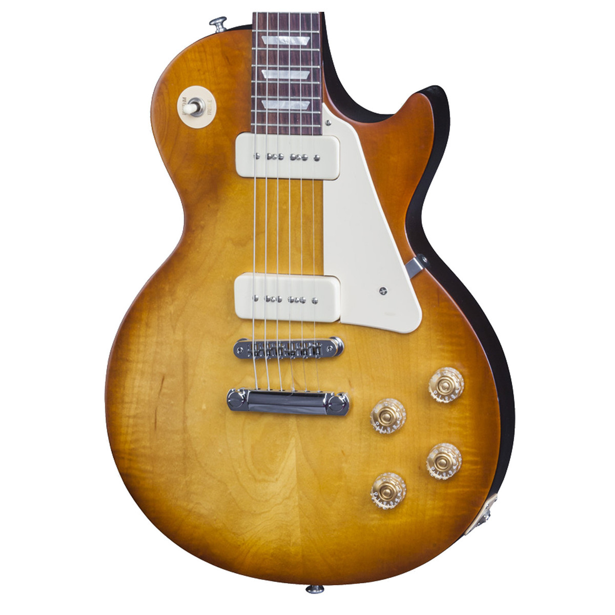gibson les paul 60s tribute 2016 high performance sat honeyburst at gear4music. Black Bedroom Furniture Sets. Home Design Ideas