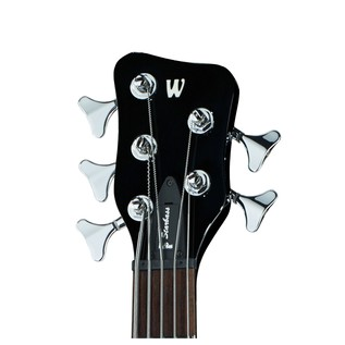 Warwick Rockbass StarBass 5-String Bass, Black High Polish