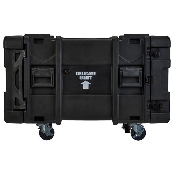 SKB 30'' Deep 8U Roto Moulded Shock Rack Case - Side
