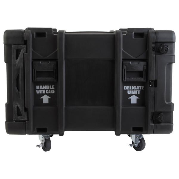 SKB 30'' Deep 10U Roto Moulded Shock Rack Case - Side