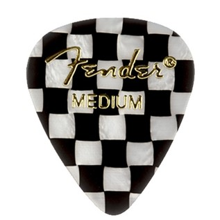 Fender 351 Shape, Medium Checker Pick, Pack of 12