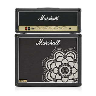 Marshall DSL100H Head and 1936 2x12 Cab, Limited Edition Mandala