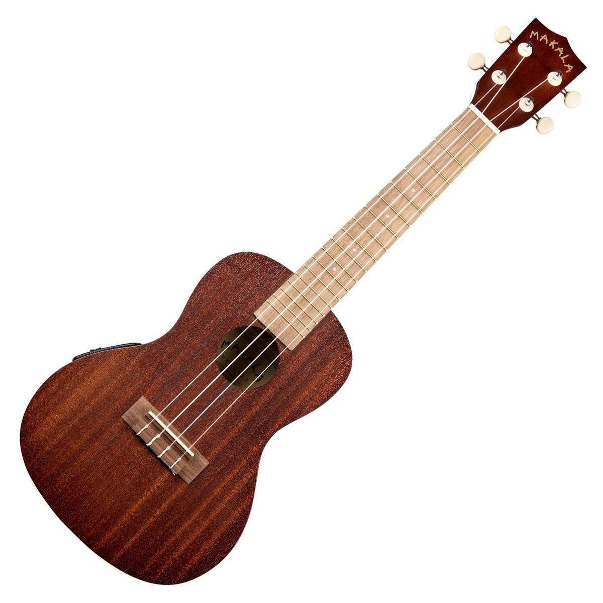 kala makala mk ce electro concert ukulele natural satin at gear4music. Black Bedroom Furniture Sets. Home Design Ideas