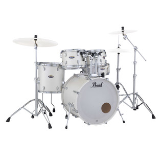 Pearl Decade Maple 22'' Am Fusion W/ Hardware Pack, White Satin Pearl