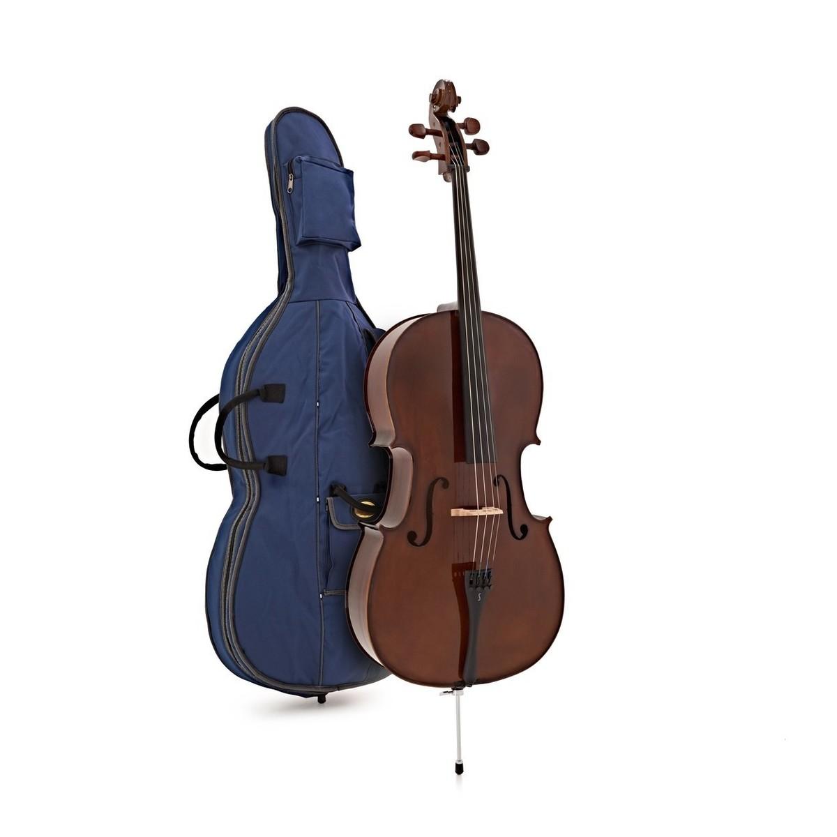 Violoncello a 4//4 Student Plus con Custodia Gear4music