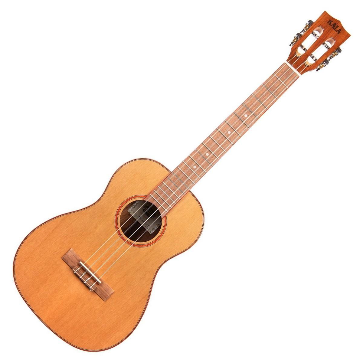 kala ka abp ctg cedar top baritone ukulele gloss at gear4music. Black Bedroom Furniture Sets. Home Design Ideas