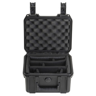 SKB iSeries 0907-4 Waterproof Case (With Dividers) - Front Open