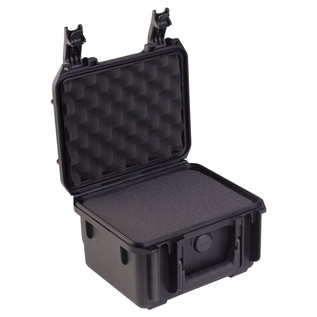 SKB iSeries 0907-6 Waterproof Case (With Cubed Foam) - Angled Open 2
