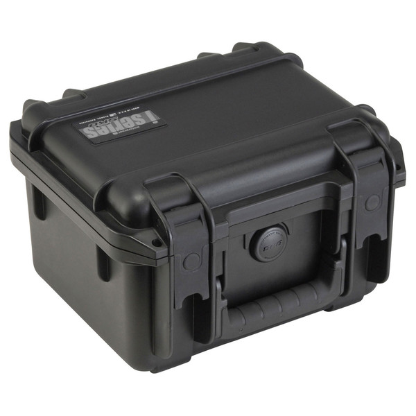 SKB iSeries 0907-6 Waterproof Case (With Dividers) - Angled 2