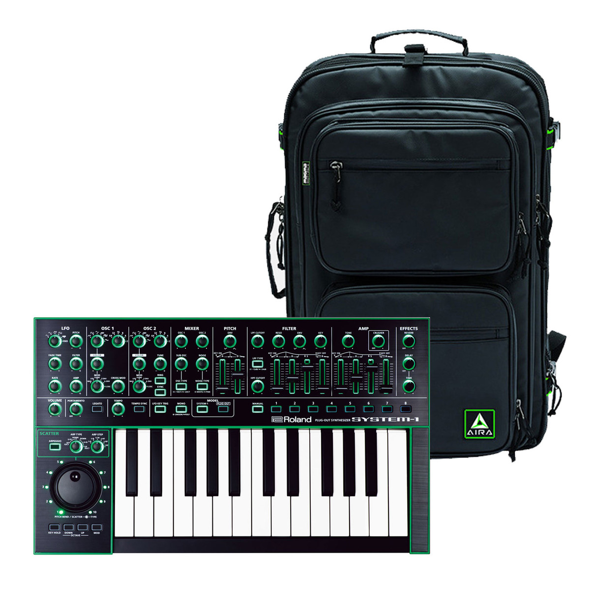 Roland Aira System 1 Plug Out Synthesizer With Official Bag At This Is The Wiring Schematic For Ev5 Expression Footpedal