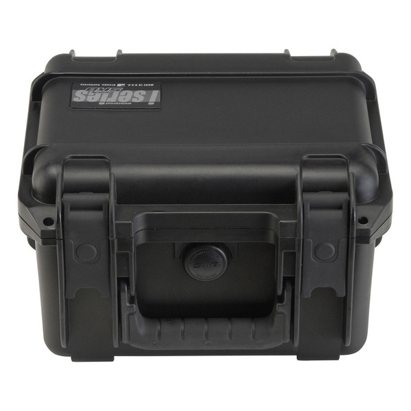 SKB iSeries 0907-6 Waterproof Case (With Layered Foam) - Front Flat