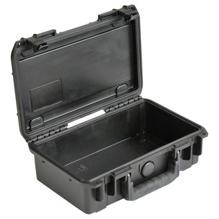 SKB iSeries 1006-3 Waterproof Case (With Cubed Foam) - Angled Open 2