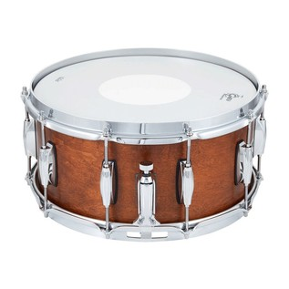 Gretsch USA Brooklyn 14 x 6.5 Snare Drum, Satin Mahogany