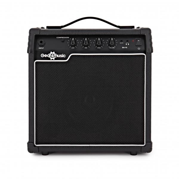 15W Electric Bass Amp by Gear4music main